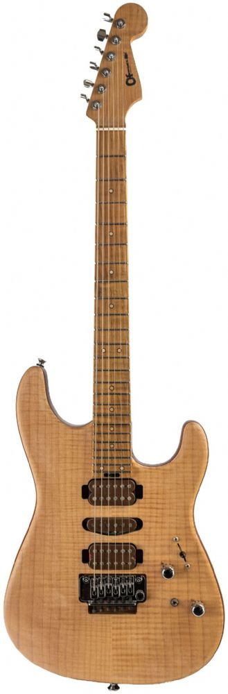 Charvel Guthrie Govan HSH Caramelized Flame Maple, Natural Pre Owned